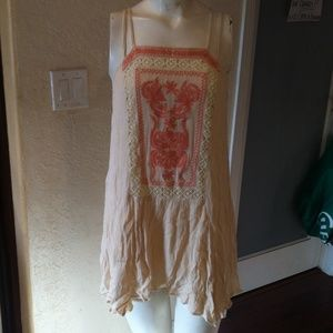 Paper Crane Embroidered Blouse